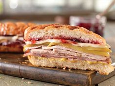 Hot and Sweet Cubano Sandwich