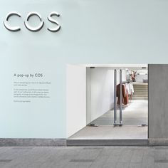 COS | Stores | Queen's Road pop-up, Hong Kong