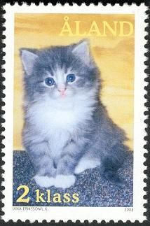 Åland - 2003 cat stamp