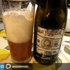 LEGNONISTI OVUNQUE! Thx @antoiemolo #mrfranklin #italiancraftbeer #craftbeer #beermaniacs #craftbeer #apa #valtellina