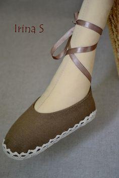 Cute Tilda shoes! Сказочный Домик