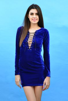 #ShopTheLove www.mariposalove.com #Velvet #Winters #Blue #LaceUps #Fashion #OnlineShopping