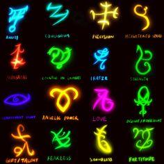 Shadowhunters runes sketch(procreate