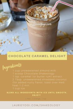 Ready for some liquid awesome? A Chocolate Almond Spice, or maybe a Peanut Butter Split? Check out these delicious recipes all made with Shakeology, your healthiest meal of the day. Got a sweet tooth? Protein Smoothies, Protein Snacks, Pancakes Protein, Whey Protein Recipes, Whey Protein Shakes, Chocolate Protein Shakes, Chocolate Shakeology, Apple Smoothies, Smoothie Recipes