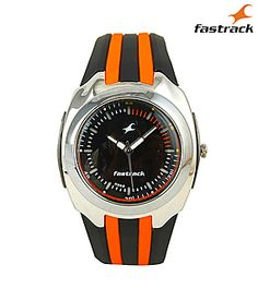 Fastrack Men Leather Watch at 15% off at Indiatimes Shopping