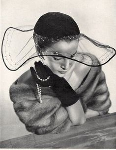 Yaaaass Lady Love Claude Saint-Cyr (Millinery), 1951