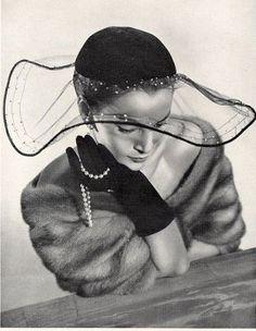 Claude Saint-Cyr (Millinery), 1951