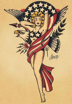 Sailor Jerry Pin Up Mermaid