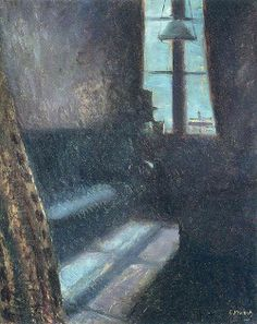 """Night"", 1890, Edvard Munch."