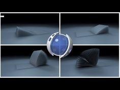 MoSpline, Spline Wrap Page Turning Animation in Cinema 4D R16 Tutorials Easy Method - YouTube