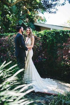 Every Last Detail Copper Wedding Cake, Flower Studio, Green Copper, Miami Wedding, Lush Green, Green Wedding, Shades Of Green, Hair Pieces, Wedding Designs