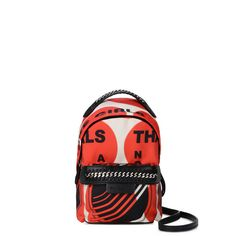59e09a5c10 Shop the Thanks Girls Print Falabella GO Mini Backpack by Stella Mccartney  at the official online