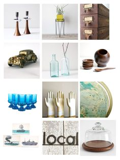 Vintage Finds for the Home: Under 50