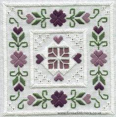 Classic Embroidery - Aquamarine Hardanger Kit