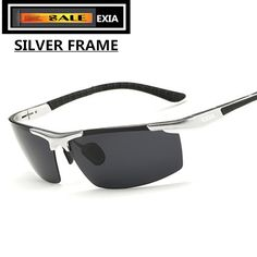 c8e8d90ace59e  gt  gt  Click to Buy  lt  lt  Silver Frame Men Sunglasses Polarized