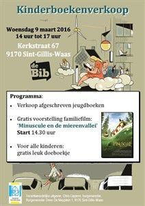 Kinderboekenverkoop | Sint-Gillis-Waas | UiT in Vlaanderen