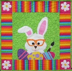 Bunny Business Wall Hanging Pattern CLS-103 (advanced beginner, wall hanging)