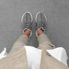 Yeezy Boosts are great with any outfit.