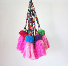 Tassel Decoration Tassel Swag Tassel Decor Tassel by midgetgems