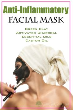 Anti-Inflammatory Facial Mask - GoodGirlGoneGreen...