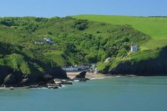 Llangrannog is an excellent beach all year round. Popular with families, surfers or just for relaxing and watching the world go by from the many excellent cafes and pubs.