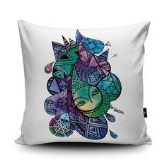 Drops Cushion by Sophia Shaw
