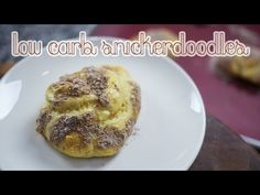 Low Carb Snickerdoodles | Cooking Is Pun