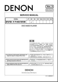Instant download service repair manuals john deere 102 115 125 135 denon dvd 558 dvd 1740 service manual fandeluxe Gallery