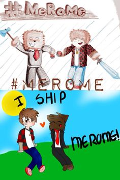 OMG YES! #Merome MEROME for days bajancanadian and ASFJerome! Mitchell and Jerome! Minecraft youtube! By: Ash E. Aka ashnickie408