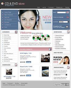 Online Store ZenCart Templates by Di