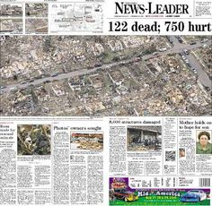 Extensive coverage of the 2011 Joplin tornado Crazy Photos, Strange Photos, Joplin Tornado, Joplin Missouri, Tornado Damage, Tears In Heaven, Weather Storm, Severe Storms, Natural Man