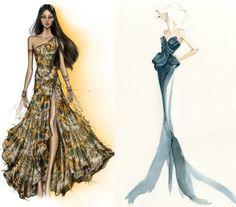 desenhos de moda simples - Pesquisa Google