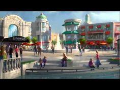 New Paramount theme park in Murcia, Spain.