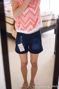 Dear John Finnigan roll cuff shorts - would love to try these!