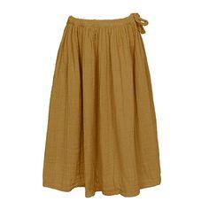 Numero 74 Ava Girls Skirt in Gold