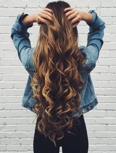 Superb Long Curly Long Hairstyles And Hairstyles On Pinterest Hairstyle Inspiration Daily Dogsangcom