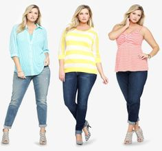 Candy. Colored. Stripes. LOVE! #TorridSpring