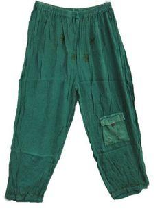 Gypsy Boho Palazzo Pant Green Bohemian Trouser Wide Leg Gauchos Mogul Interior,http://www.amazon.com/dp/B00C4B7DPS/ref=cm_sw_r_pi_dp_kIcwrbD1490849AA
