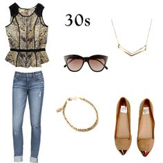 30s   Style At Any Age: !it Boyfriend Jeans   Taim Boutique