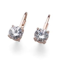 Winter Collection, Diamond Earrings, Rose Gold, Engagement Rings, Crystals, Pink, Jewelry, Fields, Fashion