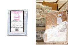 Plastic Bags for Moving & Shipping Upholstered Chairs, Sofa Chair, Plastic Chair Covers, Moving Supplies, Mattress Cleaning, Moving Boxes, Plastic Bags, Sofa Covers