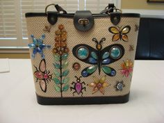 One year for Christmas all my girlfriends received Enid Collins vintage bags.  I won't lie...I might have gotten one or two for myself.  :)