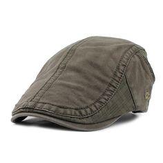 FETSBUY  Driving Flat Cabbie Newsboy Caps Striped Peaked Hat Flat Cap Hats  For Men Retro Beret Visors Warm Autumn Winter Hats 28e4014e69f9