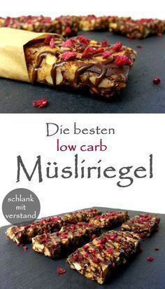 Die besten low carb Müsliriegel #abnehmen #lowcarb #food #pinterest #fitnessfood #health #healthyfood #foodblogger #rezept #recipe #follow #sweet #snack