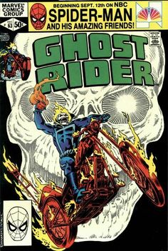 Great Ghost Rider Comic Covers: Ghost Rider #63 #ghostrider