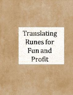 Translating Runes for Fun and Profit a book cover you can print on a regular paper and then tape to an old book to make your own wizard book Lots of designs on this site could make a Hogwarts Library section for decor for a harry Potter part or event Harry Potter Library, Harry Potter Parts, Hogwarts Library, Harry Potter Decor, Harry Potter Party Games, Harry Potter Activities, Name Generator, Book Themes, Runes