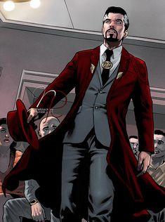 Strange & Cloak of Levitation Doctor Strange Comic, Doc Strange, Hq Marvel, Marvel Heroes, Movie Characters, Marvel Characters, Cloak Of Levitation, Superfamily Avengers, Marvel Background
