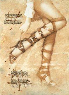"""Saatchi Art Artist Walter Girotto; Painting, """"STILETTO #2"""" #art"""