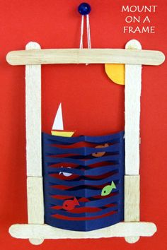 Paper Craft for Kids Fish in the Sea