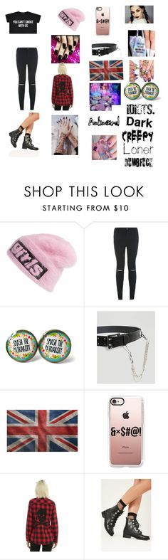 """""""Adoption day: lily"""" by michaelagoldinger on Polyvore featuring Alexander Wang, New Look, ASOS, Casetify and Missguided"""